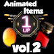 Animated Collectible Items Vol 2 - GraphicRiver Item for Sale