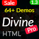 Divine Pro - 64+ Responsive Multi-purpose HTML5 Template - ThemeForest Item for Sale