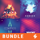 Abstract Album Cover Artwork Templates Bundle 2 - GraphicRiver Item for Sale