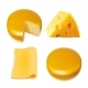 Cheese Various Types Collection Set - GraphicRiver Item for Sale