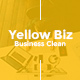 Yellow Biz Business Clean Powerpoint - GraphicRiver Item for Sale
