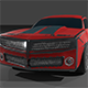 Chevrolet Camaro 2010 3D - Shabby