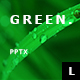 Green Minimal Powerpoint - GraphicRiver Item for Sale
