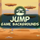 Jump 2D Game Backgrounds