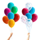 Party Balloons in Hand Composition - GraphicRiver Item for Sale