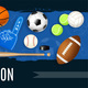 Sport Inventory Realistic Illustration - GraphicRiver Item for Sale