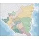 Map of Nicaragua - GraphicRiver Item for Sale