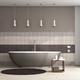 Brown bathtub in a elegant bathroom - PhotoDune Item for Sale