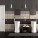 Modern bathroom with two sinks - PhotoDune Item for Sale