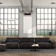 Black sofa in loft - PhotoDune Item for Sale