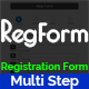 RegForm - Advanced Multi Step Registration HTML Ajax Form - CodeCanyon Item for Sale