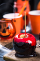 Red candy apple, Halloween food - PhotoDune Item for Sale