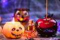Creative candy apples, Halloween party food - PhotoDune Item for Sale