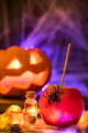 Candy apple, traditional Halloween food - PhotoDune Item for Sale