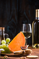 American Cheddar orange cheese - PhotoDune Item for Sale