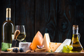 Cheese board, serving healthy festive food - PhotoDune Item for Sale