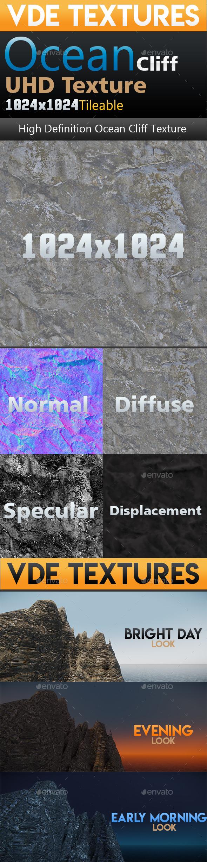 VDE_UHD_Ocean_Cliff_Texture - 3DOcean Item for Sale