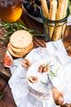 Serving camembert cheese, festive Christmas food - PhotoDune Item for Sale