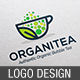 Organic Bubble Tea Logo - GraphicRiver Item for Sale