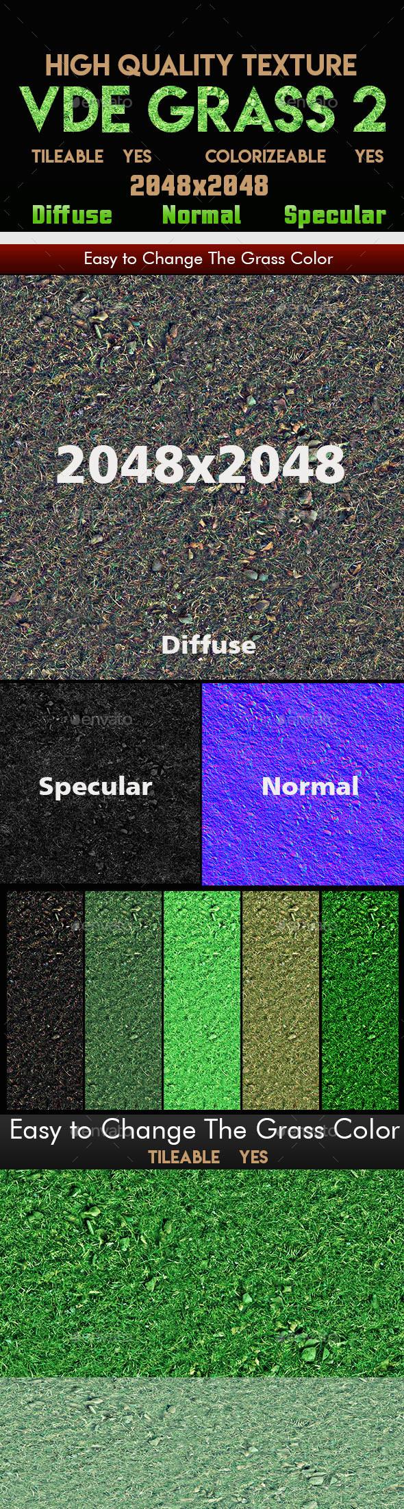VDE_Grass_2_UHD_Tileable_Texture - 3DOcean Item for Sale