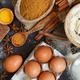 Ingredients and utensils for baking cookies - PhotoDune Item for Sale