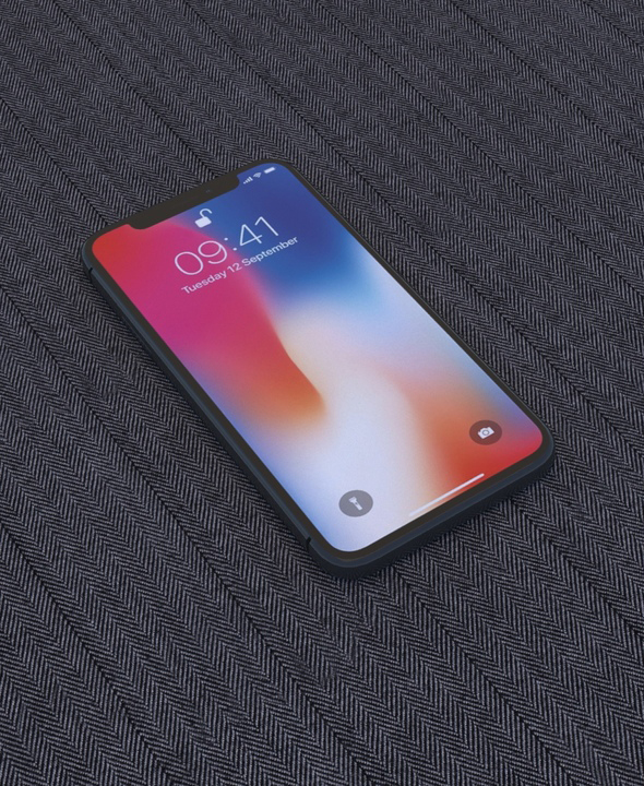RSmodel3D - iPhone X Collection - 3DOcean Item for Sale