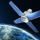 Sci-Fi sattellite on the orbit of the Earth - PhotoDune Item for Sale