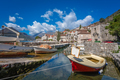 Boat on the shore in Perast - PhotoDune Item for Sale