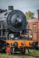 Old disused steam train locomotive - PhotoDune Item for Sale