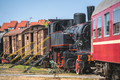Old locomotives and carriages - PhotoDune Item for Sale