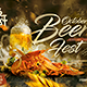 October Beer Festival Flyer - GraphicRiver Item for Sale
