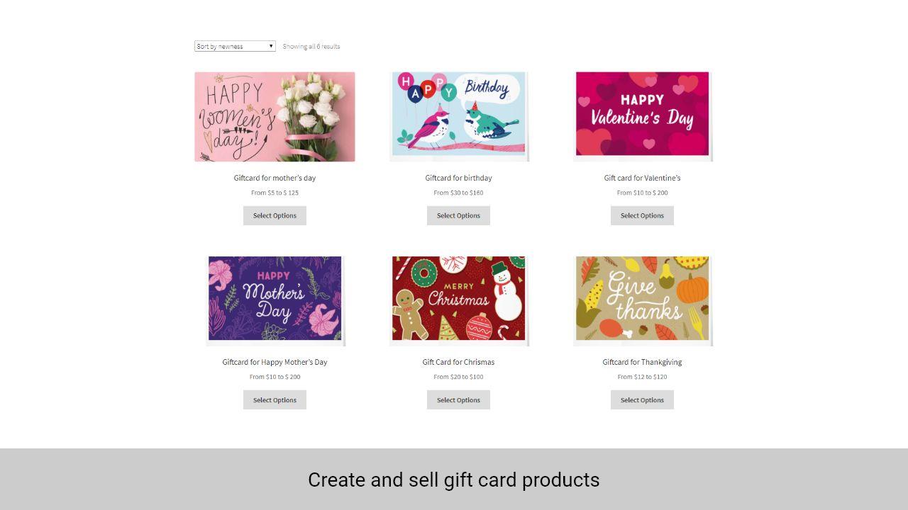 Woocommerce Geschenkkarte Pro