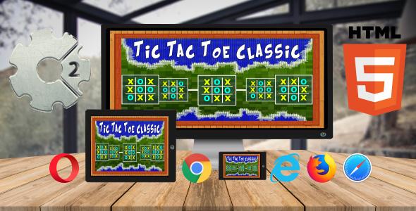 Tic Tac Toe Classic - CodeCanyon Item para Venda