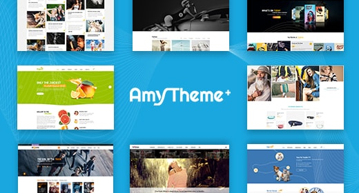AmyTheme Beauty & Elegant WordPress Theme collection