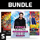 Party Flyer Bundle Vol.109 - GraphicRiver Item for Sale
