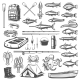 Fishing Equipment - GraphicRiver Item for Sale