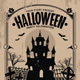 Halloween Party Vintage Flyer - GraphicRiver Item for Sale