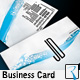 Wave Typographic Business Card - GraphicRiver Item for Sale
