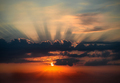 Rising sun in the morning - PhotoDune Item for Sale