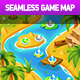 Island Palm Seamless Game Map - GraphicRiver Item for Sale