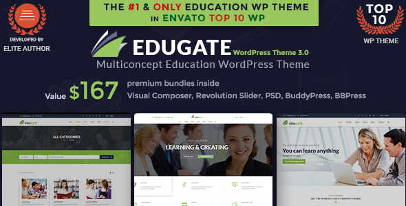 Education WordPress | Edugate Education