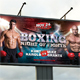 Boxing Outdoor Banner - GraphicRiver Item for Sale