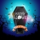 Happy Halloween Banner Illustration - GraphicRiver Item for Sale