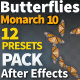 Butterfly Monarch 10 - VideoHive Item for Sale