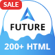 A Future - Creative Multi-Purpose HTML Template - ThemeForest Item for Sale