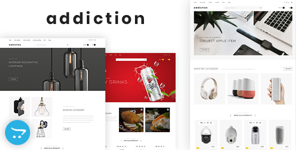 Addiction - Multipurpose OpenCart 3 Theme