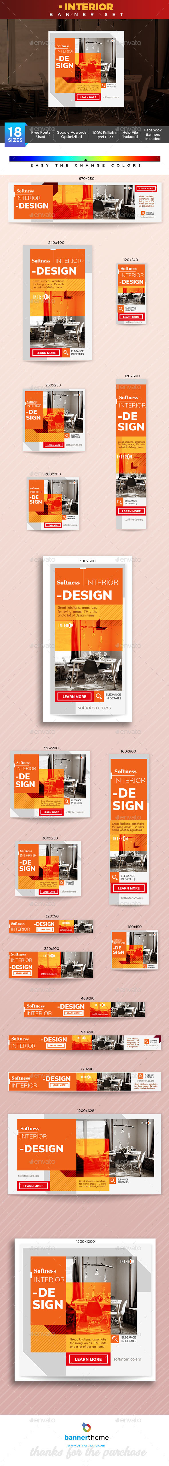 Interior - Banners & Ads Web Elements