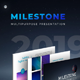 Milestone - Multipurpose Google Slides - GraphicRiver Item for Sale