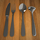 3D Spoon Set - 3DOcean Item for Sale