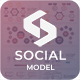 Social Model Pitch Deck Google Slide Template - GraphicRiver Item for Sale